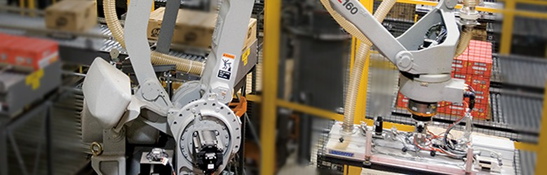 Palletizer, Palletizing, robotic Palletizing, conventional Palletizing - Conveyco Technologies Industry News, material handling,l warehouse automation, integrator