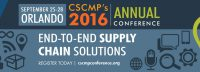 The 2016 CSCMP Conference
